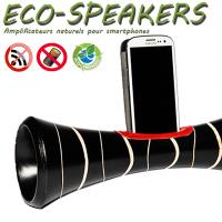 ECOSPEAKERS, enceinte naturelle écologique en bois