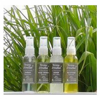 Brume d'oreiller aux huiles essentielles d'Eucalyptus bio Run'essence 80ml