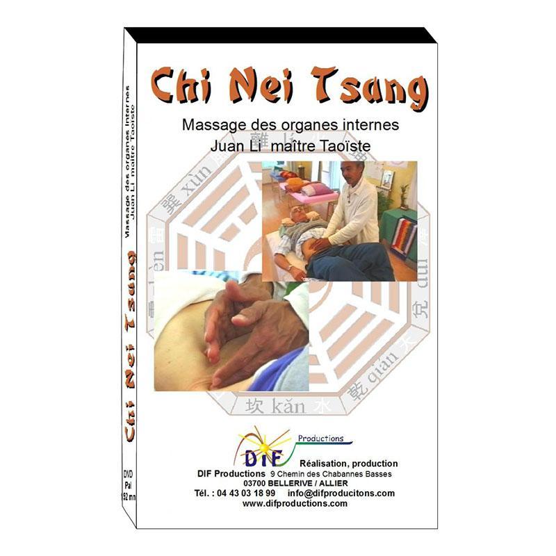 DVD- CHI NEI TSANG Massage des organes internes