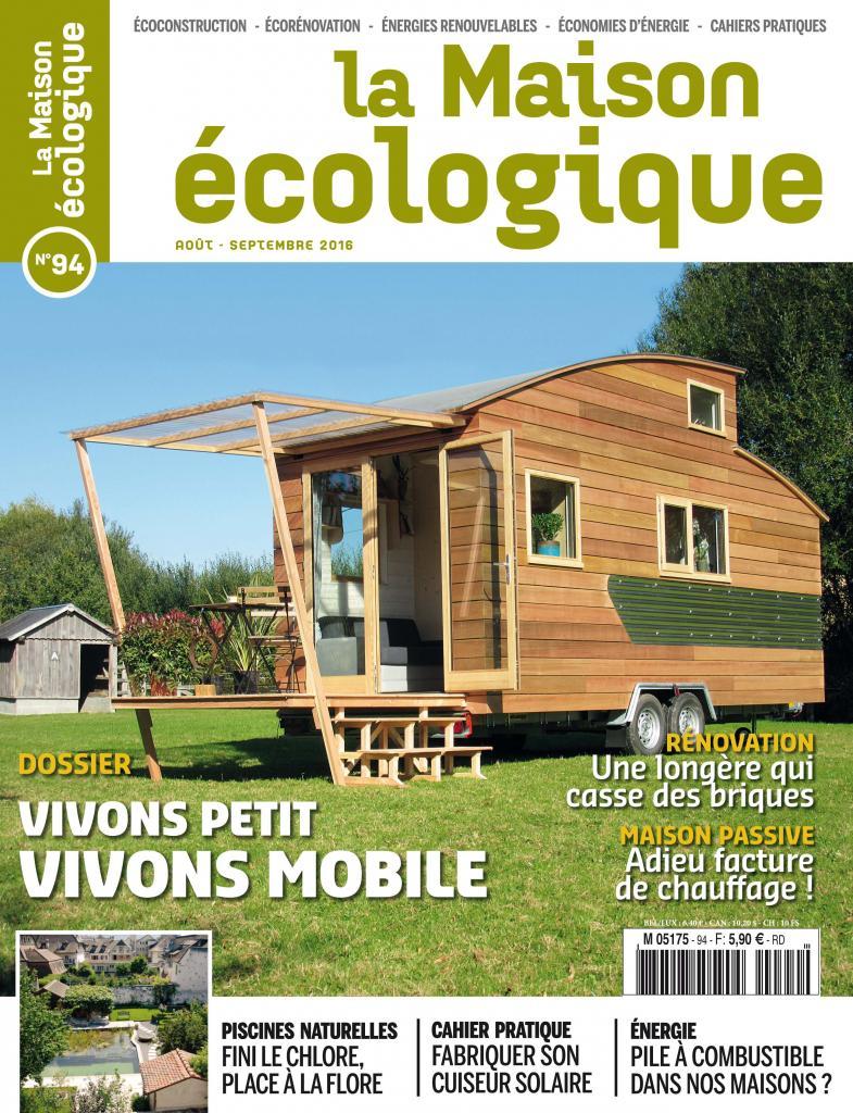 Magazine la maison cologique n 94 sevellia for Magazine maison