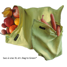 Sacs à vrac alimentaire Bag to green