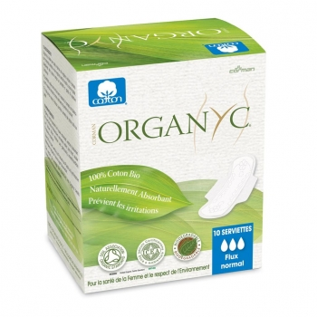 ORGANYC - Serviettes ultra fin normal