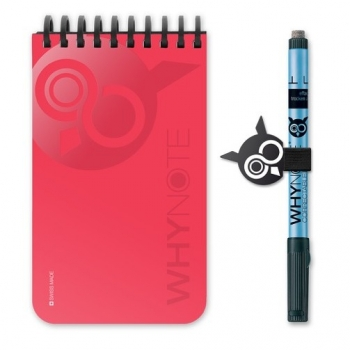 WHYNOTE POCKET ROUGE - Calepin