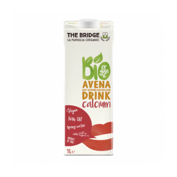 THE BRIDGE - Boisson végétale Avoine enrichi en calcium bio