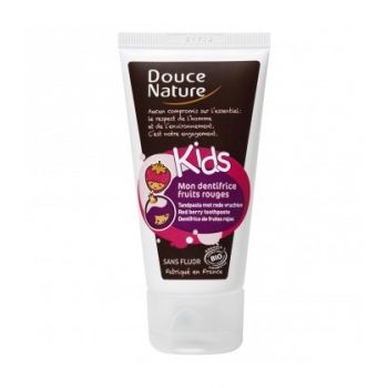 DOUCE NATURE - Mon dentifrice fruits rouges bio