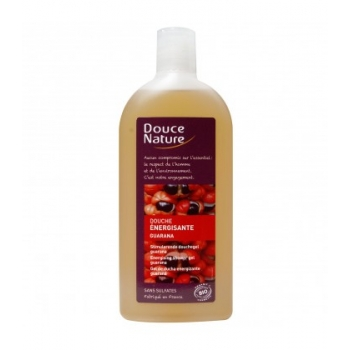 DOUCE NATURE - Gel douche énergisante au guarana bio