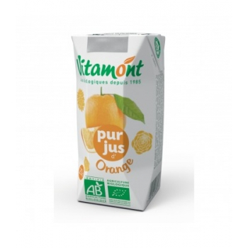VITAMONT - Pur jus d'orange bio mini brique