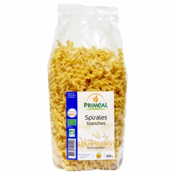 PRIMEAL - Spirales blanches 500 g