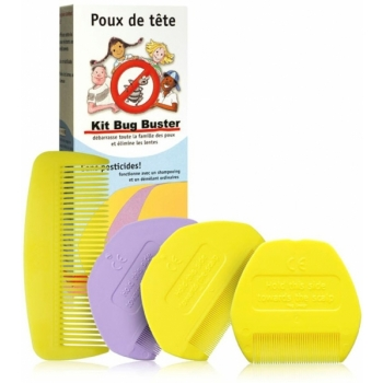Kit anti poux Bug Buster