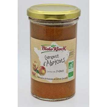 Compote d'abricots - 270g