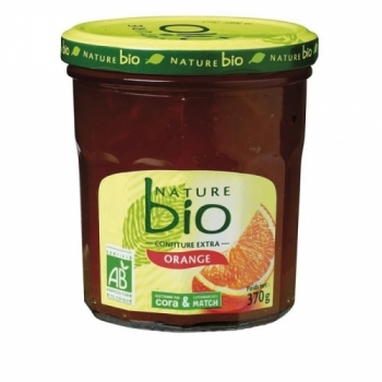 NATURE BIO - Confiture extra Orange Amère