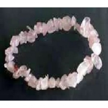 Bracelet Chips Quartz Rose 2