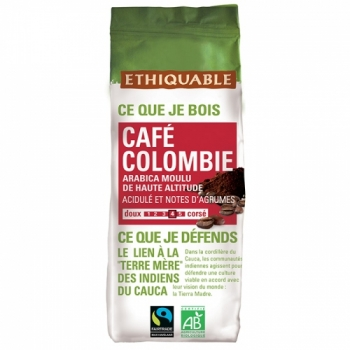 ETHIQUABLE - Café Moulu Colombie 250 g