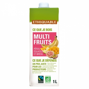 ETHIQUABLE - Jus Multi Fruits bio