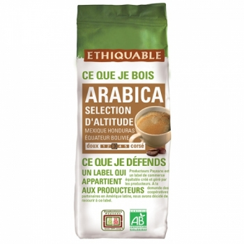 ETHIQUABLE - Café moulu Selection d'altitude