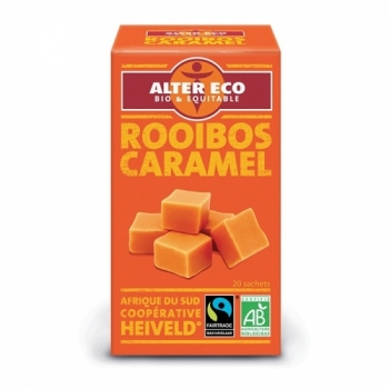 ALTER ECO - Thé Rouge Rooibos au Caramel