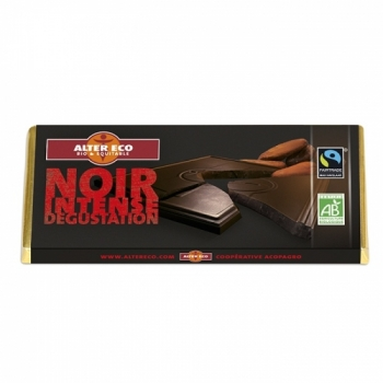 ALTER ECO - Barre Chocolat Noir Intense