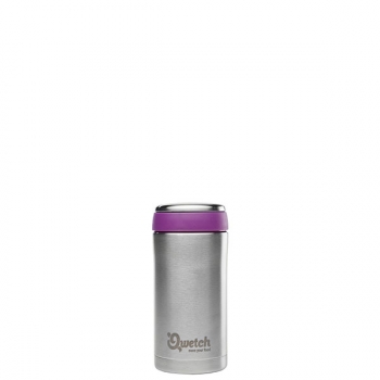 280ml travel mug iso inox brossé
