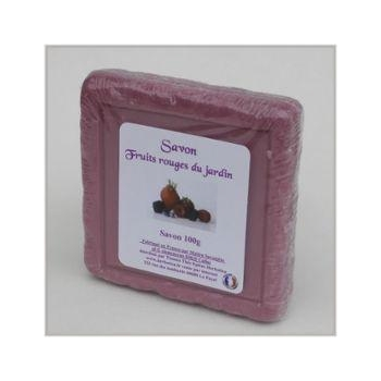 Savon Fruits Rouges Du Jardin Carré 100g