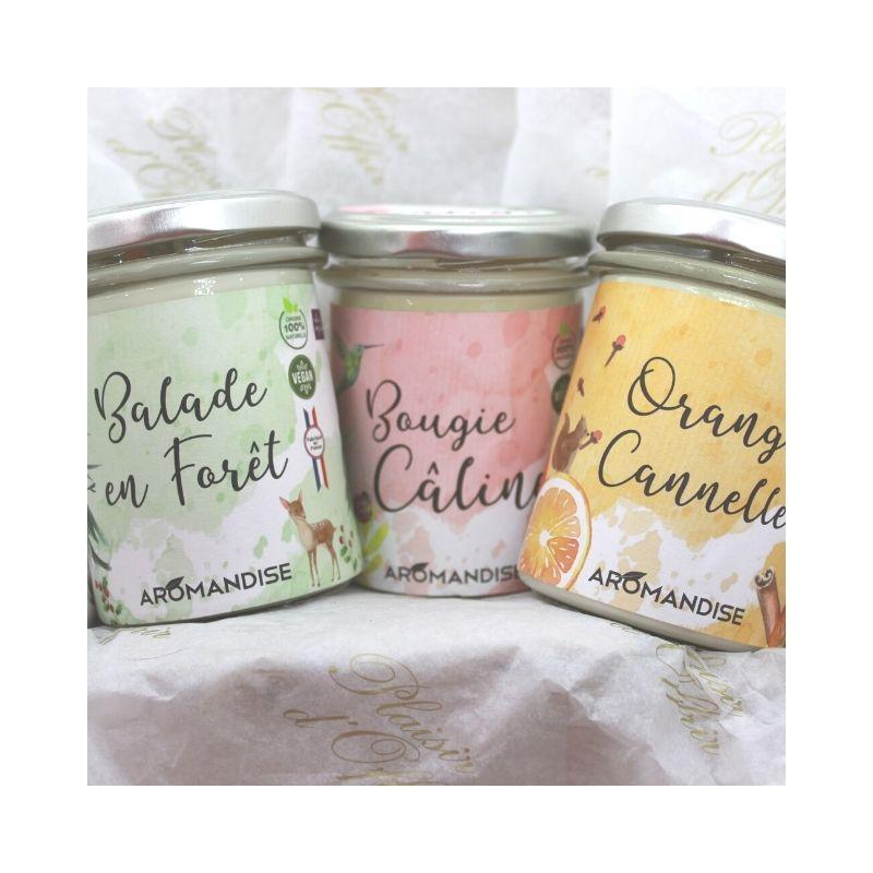 Coffret 3 Bougies Aromandise