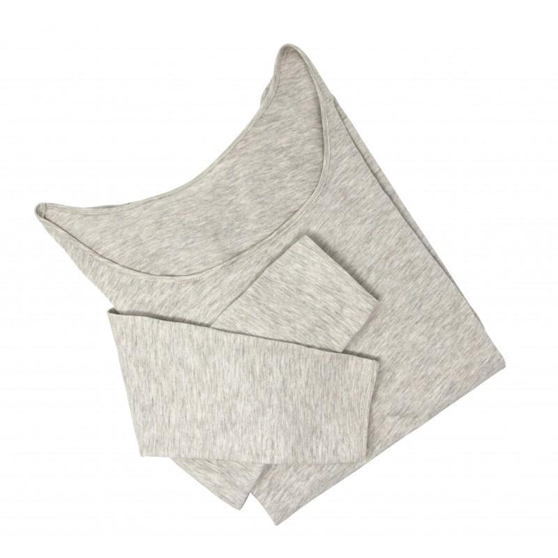 DOODERM - Tee shirt femme apaisant sensation seconde peau pour les peaux sujettes à eczéma ou psoriasis - taille S