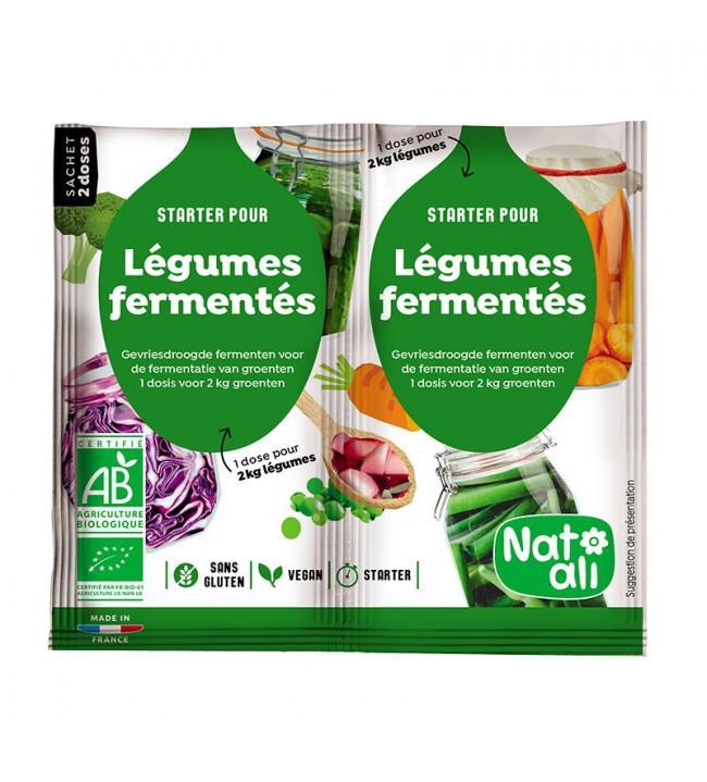Starter Légumes fermentés - 2 X 5 g