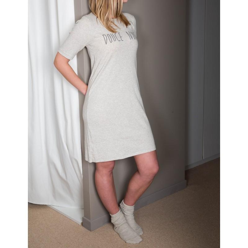 """DOODERM - Tee shirt long """"douce nuit"""" apaisante - taille XL"""