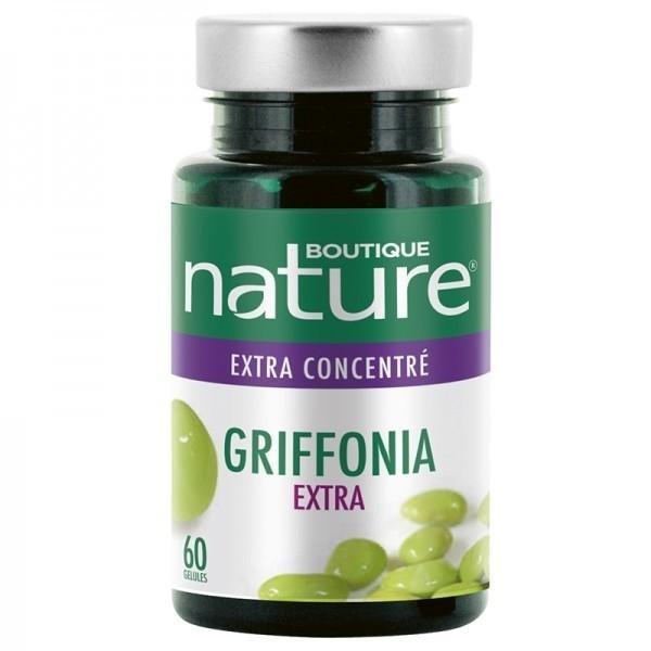 Griffonia Extra concentré - 60 gélules - Boutique Nature