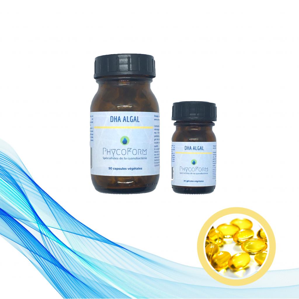 DHA 100% ALGAL 250 mg - 30 capsules