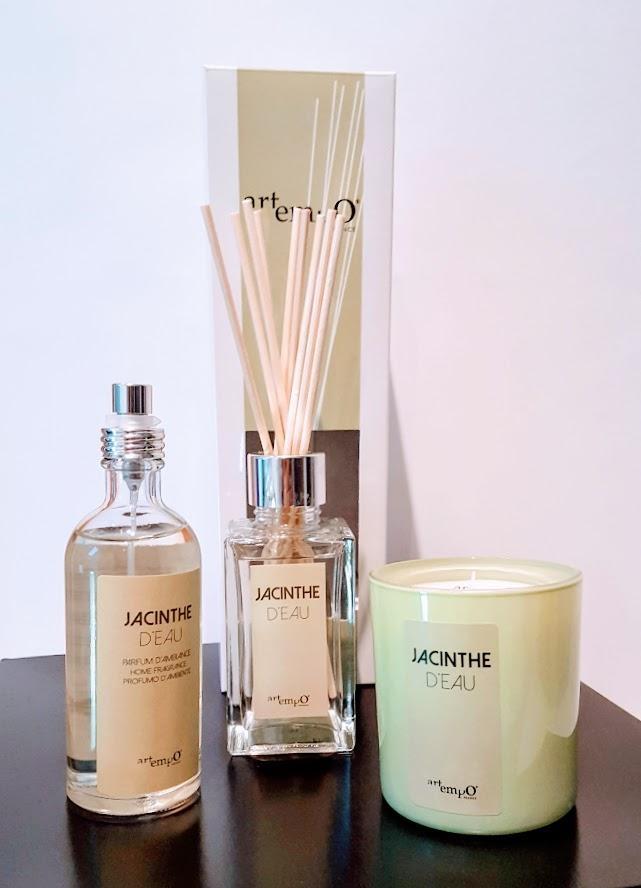 Coffret parfum maison - Jacinthe d'eau - Artempo