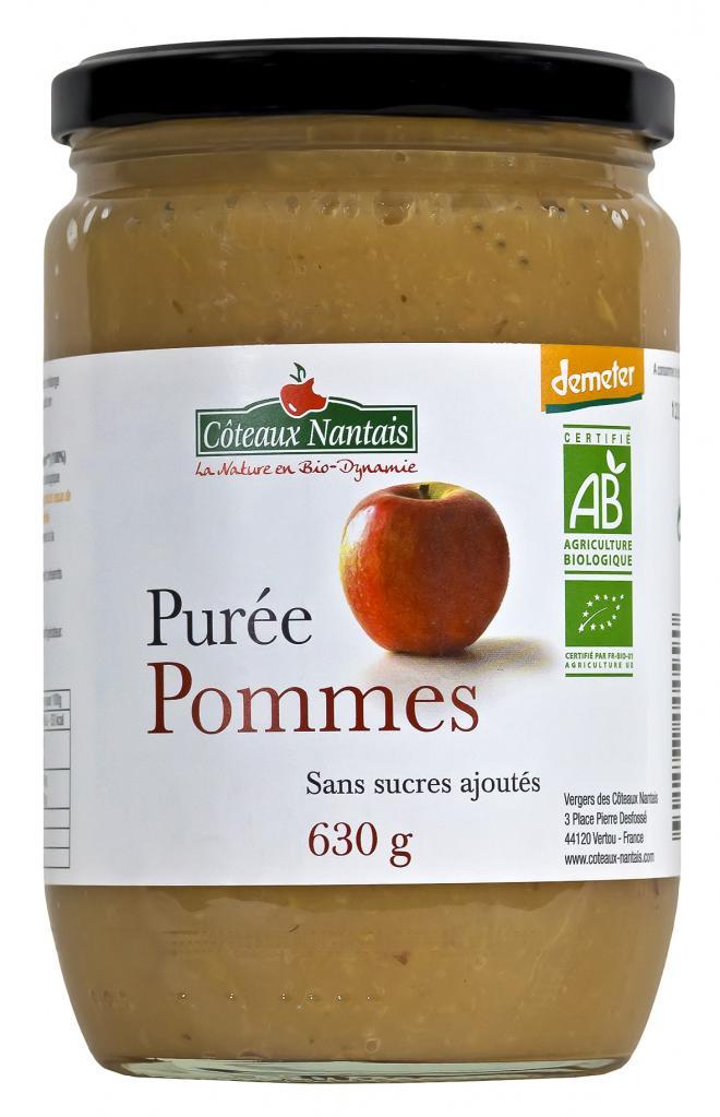 Purée pommes 630 g