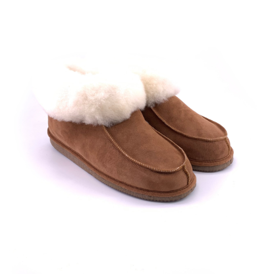Chaussons bottines en peau de mouton