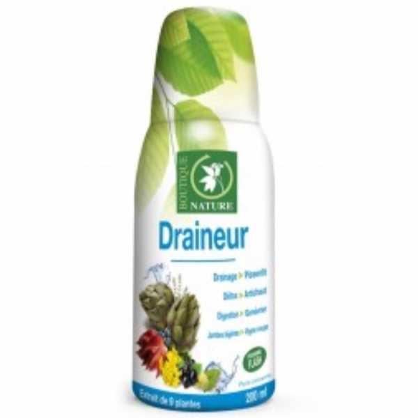 Draineur nouvelle formule - 500 ml - Boutique nature
