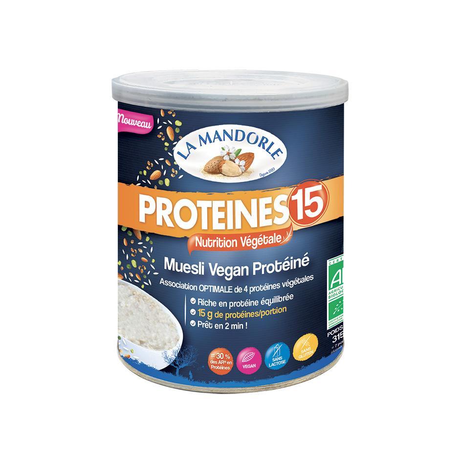 "Muesli Protéiné Vegan 15 ""LA MANDORLE"""