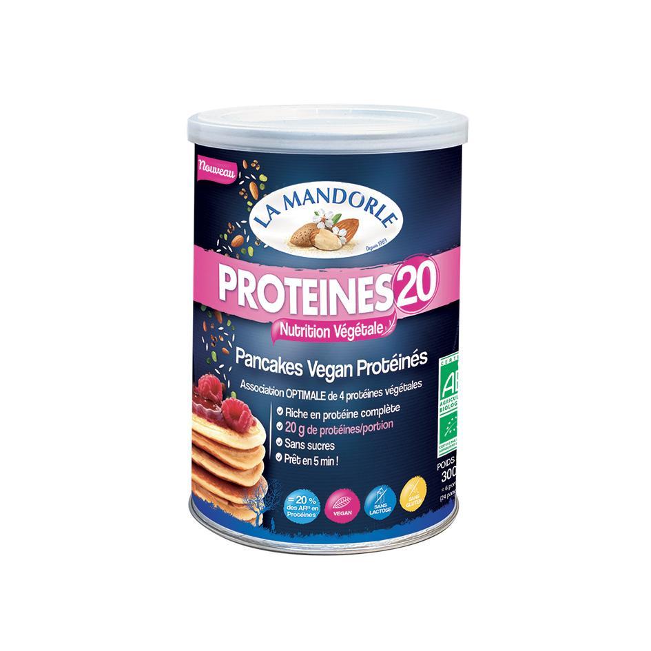 """Pancakes Protéinés Vegan 20 """"LA MANDORLE"""""""