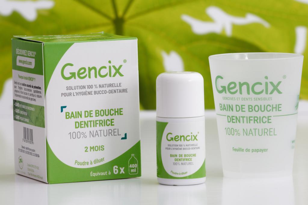 Bain de bouche Dentifrice Gencix® 2 mois