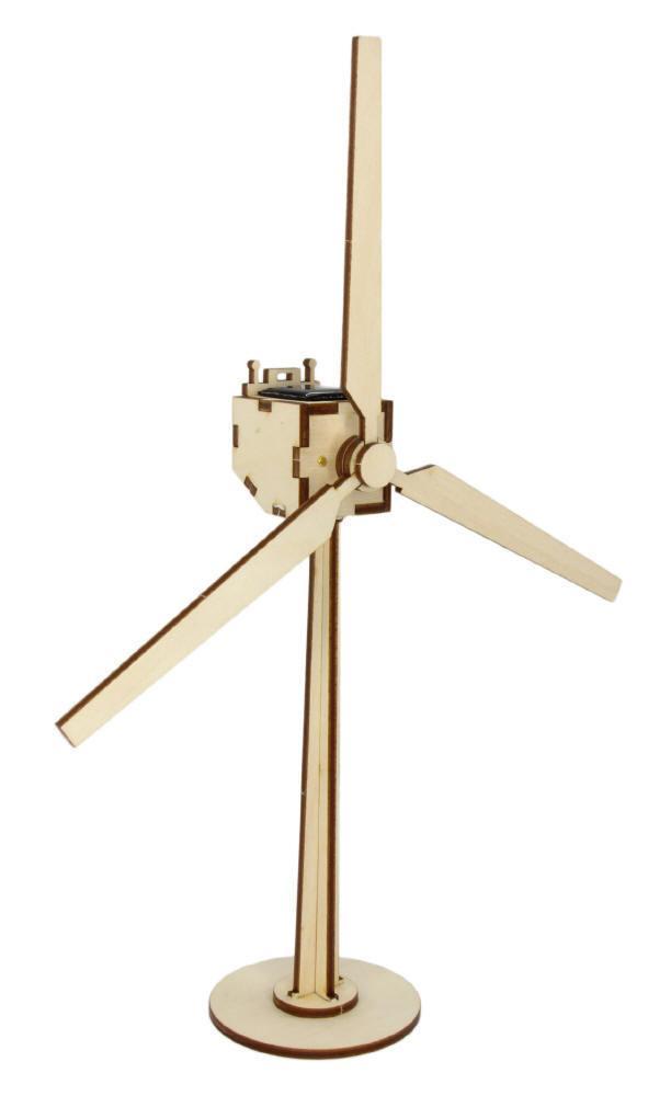 """Kit éolienne solaire en bois """"Sylt"""""""