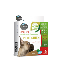 Collier Insectifuge Petit Chien - Biovetol