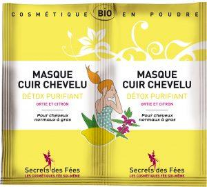 Masque cuir chevelu detox purifiant