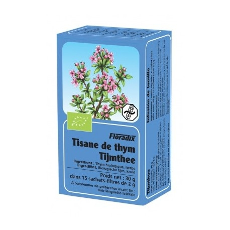 Tisane Thym - 15 Infusettes - Floradix
