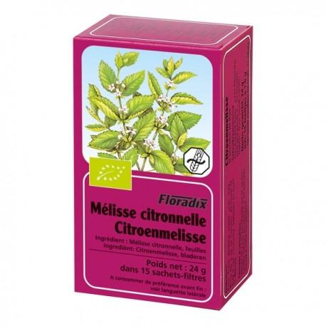 Tisane de Mélisse Citronnelle - Floradix - 15 Sachets