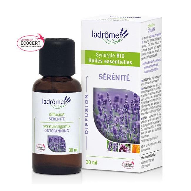 LADRÔME - Sérénité - Mélange huiles essentielles pour diffuseur bio 30ml