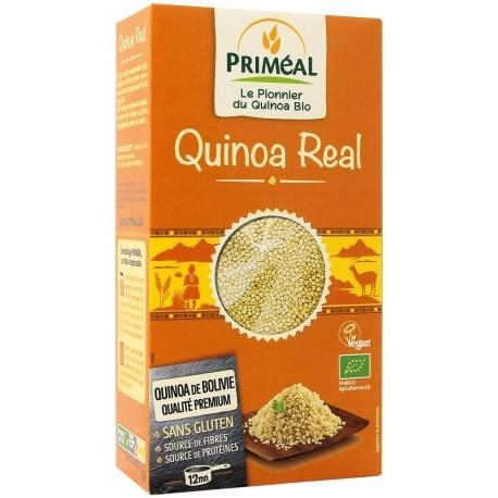 PRIMÉAL - Quinoa Real bio, vegan et sans gluten