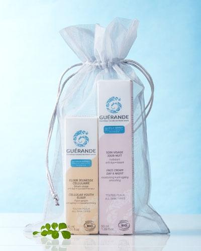 Votre duo soin visage : Elixir Jeunesse cellulaire et crème jour-nuit