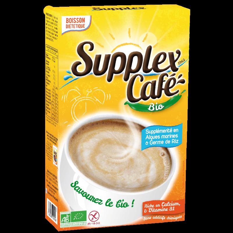 Petit déjeuner sans gluten Supplex Café bio 250g