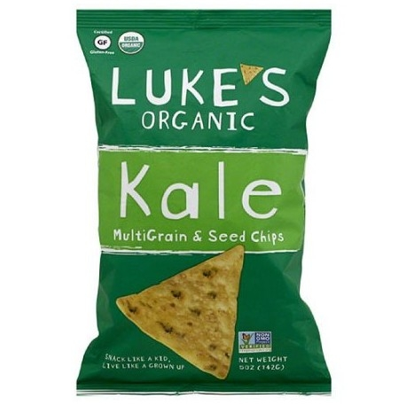 Chips Multi-Graines et Kale - 142g - Luke's