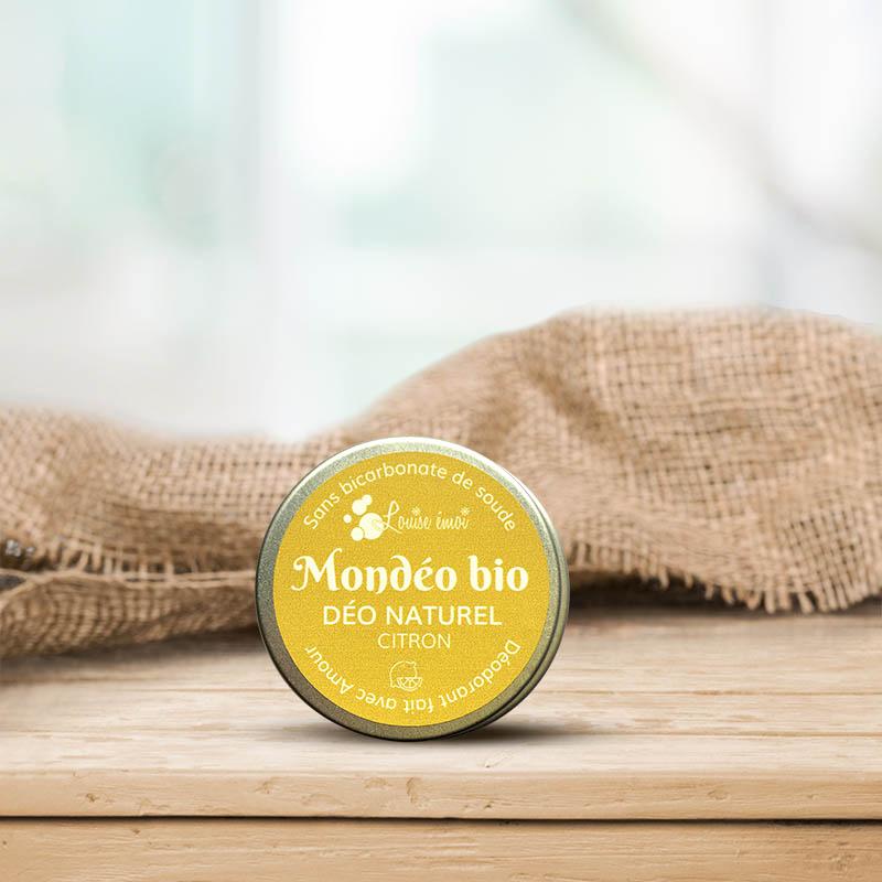 Déodorant bio Citron Patchouli Mondéo