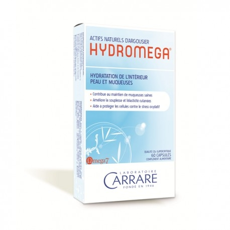 Hydromega ® - 60 Capsules - Laboratoire Carrare