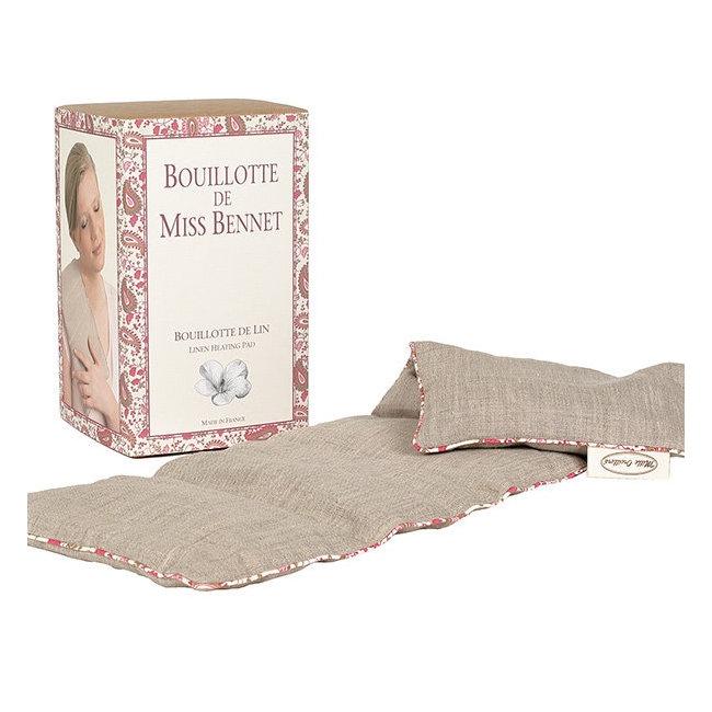 Bouillotte de Miss Bennet (bouillotte de lin) - Mille Oreillers