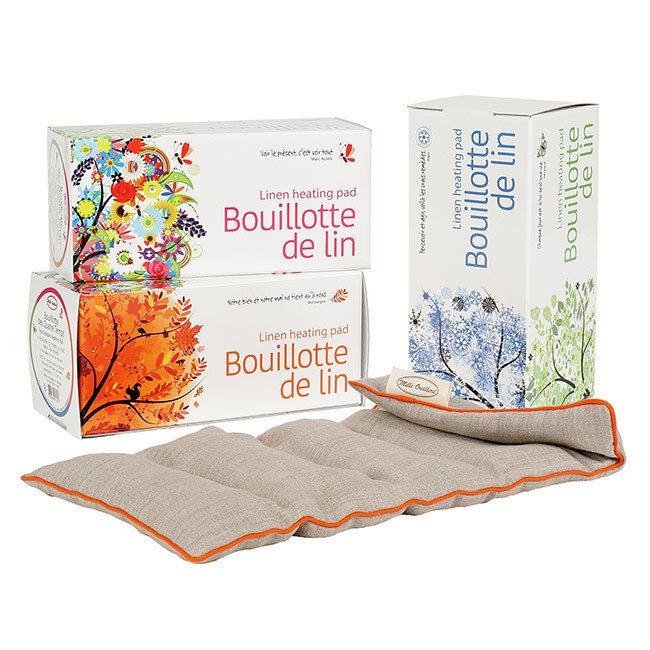 Bouillotte des Quatre Temps 100% Française - Mille Oreillers
